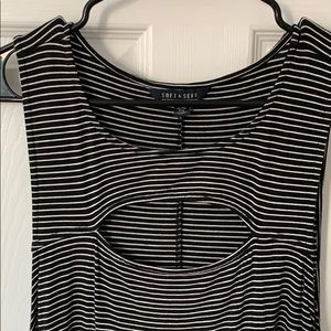American Eagle Outfitters Dresses - American Eagle black & white striped dress